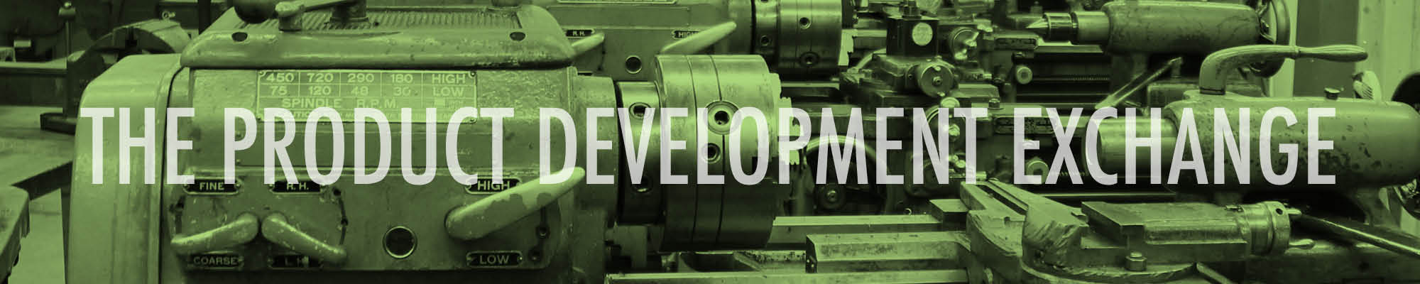 Product Development Exchange Title Card