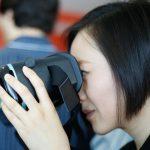 Juan Jiang and VR Goggles